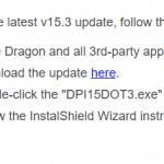 Update voor Dragon Professional Individual 15 beschikbaar