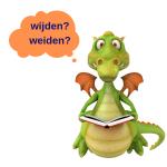 Weet Dragon het verschil tussen de homofonen wijden en weiden