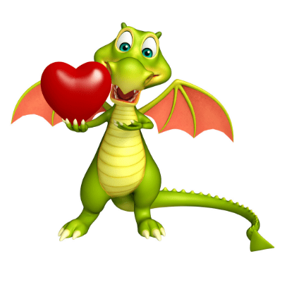 Valentijnskaart voor Dragon spraakherkenning